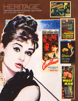 Heritage Auctions, Vintage Movie Poster Auction 2014 Catalog