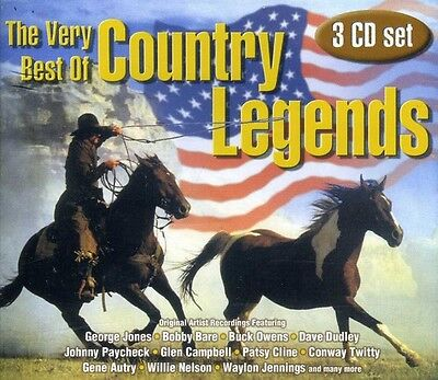 Very Best Of Country - Very Best of Country Legends [New CD]