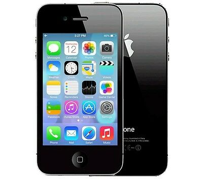 Apple iPhone 4S 16GB - Verizon - Clean ESN - Black Smartphone