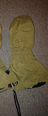 USMC ECW, Outdoor Research FIREBRAND Extreme Cold Weather Mittens w/ Liner, LGE