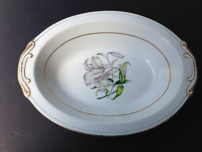 Aladdin Fine China, Made in OCCUPIED JAPAN DONNA LILY Pattern SERVING BOWL