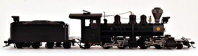 Bachmann On30 Scale Train 2-4-4-2 DCC Equipped Black Steel Cab 29001