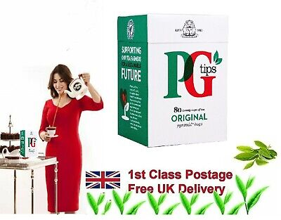 PG Tips ONE CUP PYRAMID TEA BAGS Fresh sealed 70 Bags