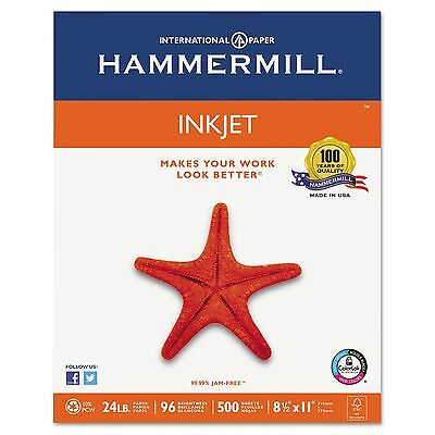 500 Sheets Hammermill InkJet Laser Multipurpose Copy Print Paper 8.5x11 Printer