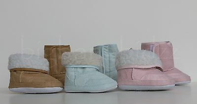 New Soft Baby Infant Toddler Fur Snow Boots Shoes NonSlip Girl Boy US SELLER