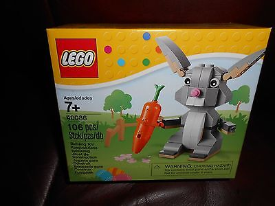 LEGO 40086 Seasonal Easter Set - BUNNY and Carrot - 2014 New sealed