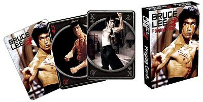 Bruce Lee set of 52 playing cards (nm)