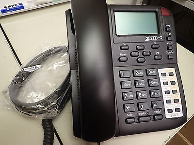 VoIP internet IP Phone with 4 SIP lines Zed-3 CN2x4