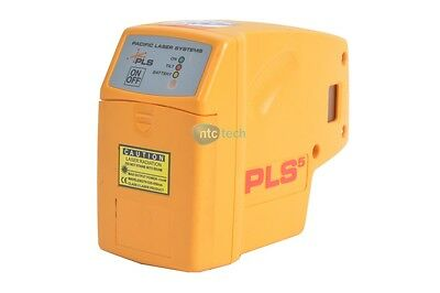PLS Laser PLS-60541 PLS 5 Laser Level Tool - Yellow
