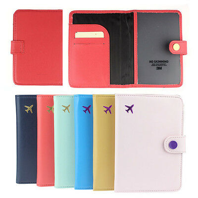 New Travel Organizer Passport Holder Protector Cover Card Case Wallet Hottest