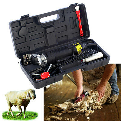320W Electric Shearing Supplies Clipper Shear Sheep Goats Alpaca Farm Shears