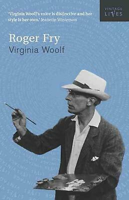 Roger Fry: A Biography by Virginia Woolf (English) Paperback Book Free Shipping!