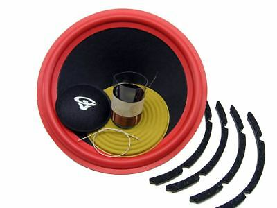 "Recone Kit for Cerwin Vega VS120, VSW12 12"" Woofer 4 Ohms Premium SS Audio Parts"