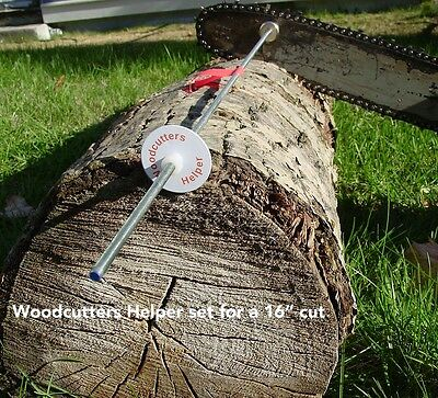 Woodcutters Helper Original Magnetic Firewood/Chainsaw Measuring Stick