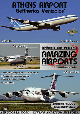 Athens Greece Airport DVD