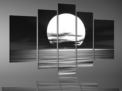 Oil Painting on Canvas the moon abstract Modern decor Wall Art Paintin(No frame)