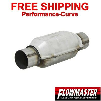225 Flowmaster Universal Catalytic Converter High Flow Stainless