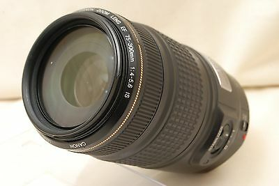 Excellent+++!! Canon EF 75-300mm f/4-5.6 IS USM from Japan