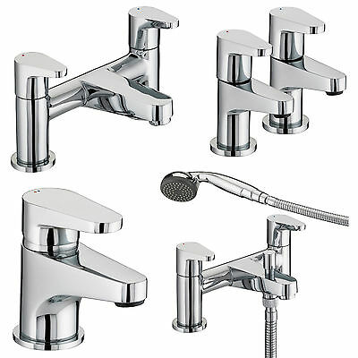 Bristan Quest Taps Basin Mixer Bath Shower Filler Chrome Mono Bathroom Set
