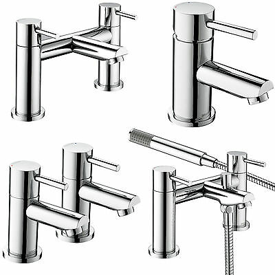 Bristan Blitz Taps Basin Mixer Bath Shower Filler Chrome Mono Bathroom Set