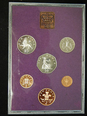 1980 Coinage Of Great Britain And Northern Ireland