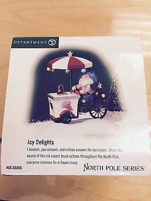 """Dept 56 North Pole Series """"Icy Delights""""  New!   # 56.56808"""
