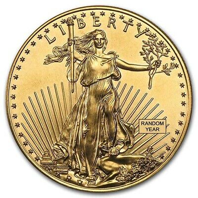 SPECIAL PRICE! 1oz Gold American Eagle Coin Random Year BU - SKU #84672
