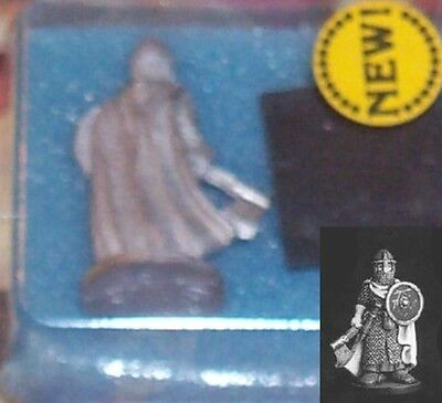 Metal Magic C1001m Fighter Wearing with Chain w/ Axe & Shield (1) Miniature NOS
