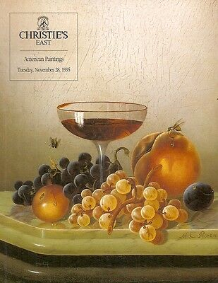 Christie's East 7805 American Paintings Auction Catalog 1995