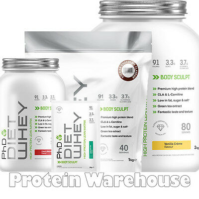 PhD Diet Whey Protein Slimming Powder Weight Loss Shakes Lean Meal Replacement