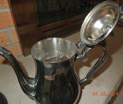 Reed & Barton Silver PLated Vintage Coffee/Tea Pot / Great Old Design