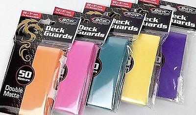 300 Sleeves Any Color Deck Guard Sleeve Cards Protectors - Matte Finish - MTG