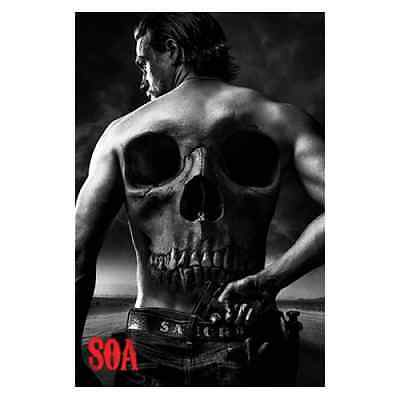 Poster Sons Of Anarchy Jax Back 61 x 91 cm Licence officielle