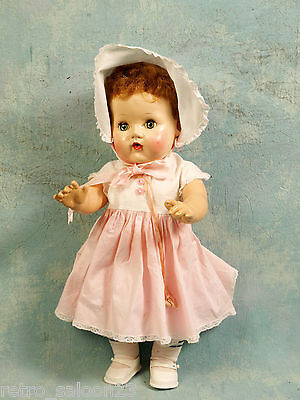 "Baby Rock-a-by Tiny Tears 20"" American Character Doll Company, GORGEOUS SQUEK"