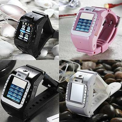 1.4'' Touchscreen Wrist Bluetooth Watch Cell Phone MP3 MP4 GSM Camera SmartWatch