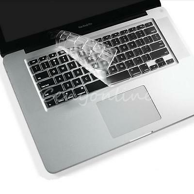 Thin Clear TPU Keyboard Cover Skin Protector for Apple Macbook Pro 13 15 Retina