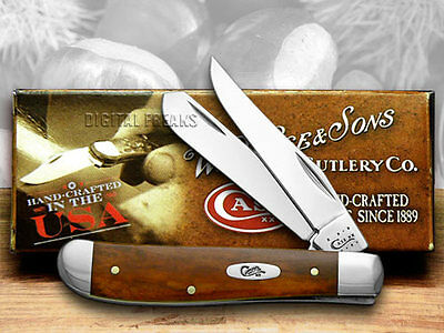 CASE XX Chestnut Bone Mini Trapper Pocket Knife Knives