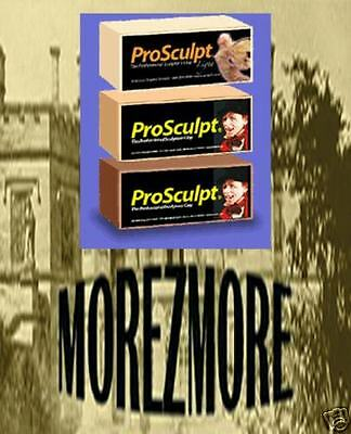 M00031 MOREZMORE Prosculpt Professional Doll Polymer Clay 1 lb BEIGE CAUCASIAN