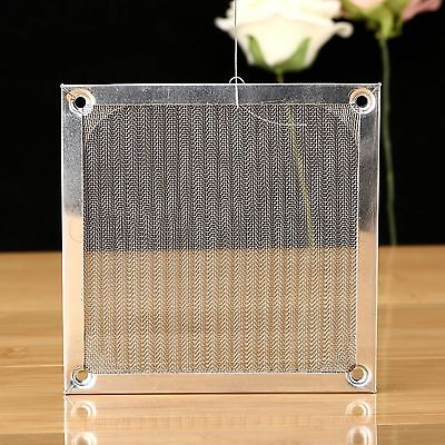 120mm Aluminum Dustproof Mesh Filter Dust Strainer for PC Computer Cooling Fan
