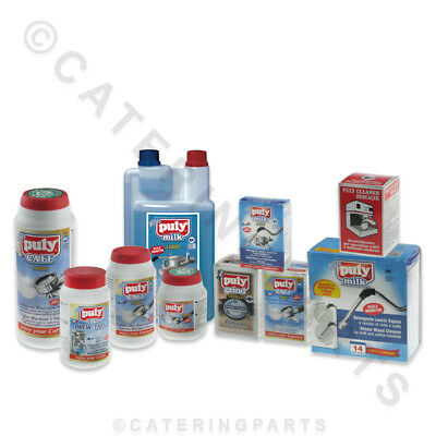 Puly Caff Cleaning Products / Cleaner & De-Scaler For Espresso Coffee Machines