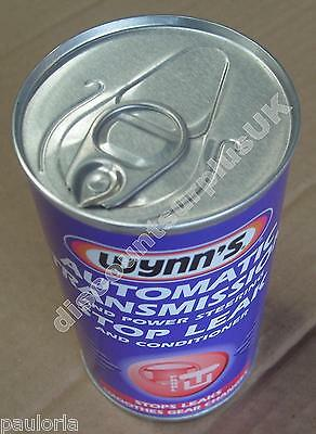 Wynn's AUTOMATIC TRANSMISSION Power Steering STOP LEAK 325ml Can *NEW* RR48
