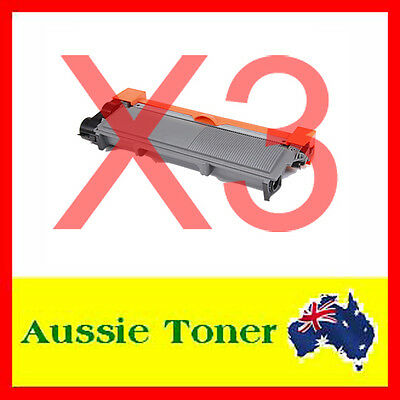 3x TN2350 TN-2350 High Yield COMP Toner for Brother MFC-L2740DW HL-L2300D L2340