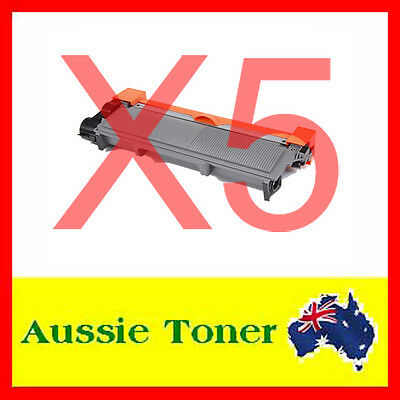 5x COMP TN2350 TN-2350 Toner for Brother MFC-L2700DW MFC-L2703DW MFC-L2720DW