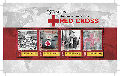 Liberia-Red Cross 150 Anniversary-2013