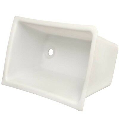 G3 White 19 X 13 X 9 In Poly Boat Livewell / Baitwell /storage Box / Container
