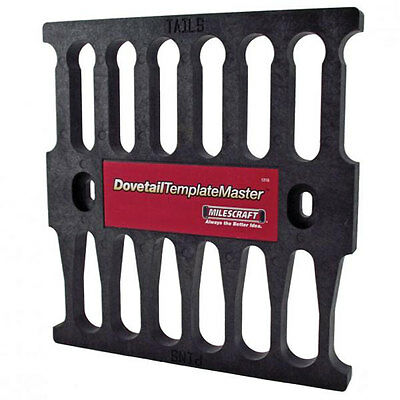Milescraft 1218 Professional Router Woodworking Dovetail Template Master