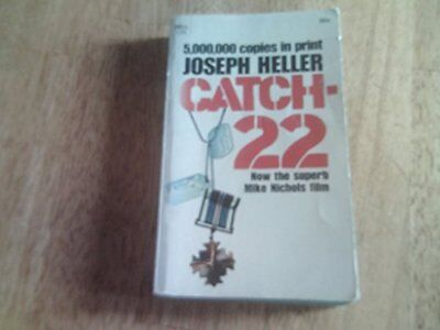 Catch 22, Joseph Heller Book The Cheap Fast Free Post