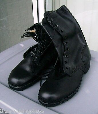 NOS VIETNAM ERA 1972 USA MILITARY COMBAT BOOTS 9 1/2 R 9.5 RO-SEARCH ARMY PUNK
