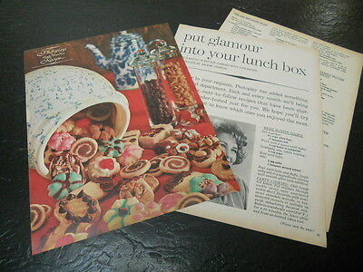 1963 STAR TESTED RECIPES MAGAZINE ARTICLE CLIPPING ARLENE FRANCIS