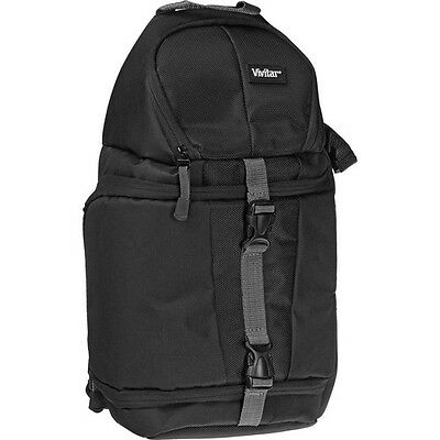 Vivitar Sling Backpack Bag for Nikon Canon Sony Panasonic Pentax DSLR Camera